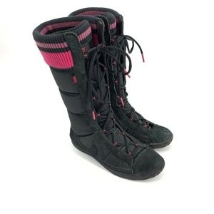 Nike Winter Hi 2 Boots Womens 9.5 Black Puffer